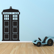 Supertogether Dr Who Tardis Childrens Bedroom Vinyl Wall Sticker Decal