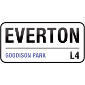 Supertogether Everton Goodison Park Childrens Bedroom Vinyl Wall Sticker Decal