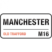 Supertogether Manchester United Old Trafford Childrens Bedroom Vinyl Wall Sticker Decal