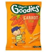Organix Goodies Organic Carrot Stix For Toddlers From 12+ Months 15G - Pack of 6