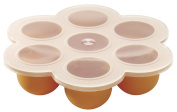Joyworker Silicone Multiportions Container - Baby Food Storage Silicone Tray 7 Gulps