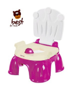 Best For Kids Violet Potty with footstool 2 in 1 Baby Royal Potty