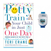 Potty Train Your Child in Just One Day with Potty Watch Training Aid, Blue