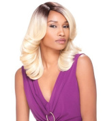Sensationnel Instant Fashion Synthetic Wig - Kate (1B) by Hair Zone