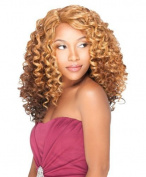Sensationnel Empress U-Part Lace Front Edge Wig - GINA (4 - MED BRN) by Hair Zone