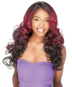 Sensationnel Synthetic Lace Front Wig Empress Edge Easy 5 L Part Ocean (2) by Hair Zone