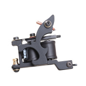 YUDO Tattoo Machine Gun Shader Steel Frame Copper 10 Coils Shader Machine WQ4441