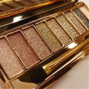 Ardisle Diamond Eyeshadow Eye Shadow Palette Makeup Cosmetic Brush Set 9 Colours Kit