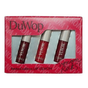 DuWop Cosmetics Venom Rocks! Limited Edition Lip Venom Set-Garnet, Pink Quartz, Amethyst