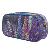 TaylorHe Nel Whatmore Collection Make-up Bag Cosmetic Case Pencil Case Printed PVC zipped top Reaching for Sky Floral Large