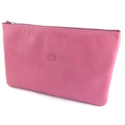 Leather makeup case 'Frandi'pink wild.