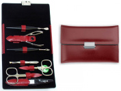 Niegeloh Solingen Diabolo L Manicure Gift Set For Women Red