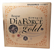 Rearar Dia Force Hydrogel Eye Patches 60 Sheets Facial Wrinkles Skin Care Gold