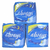 Always Classic Nights for Leakage protection with Gel Core 8 Pads