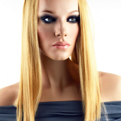 Doctored Locks Nano Tipped Straight Russian Remi Human Hair Extensions - 46cm - Platinum Blonde
