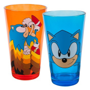 Pint Glass Sonic The Hedgehog Blast Off Pint 2-Pack Set gs2-sh-sh2