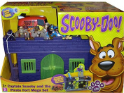 Scooby-Doo! Captain Scooby and the Pirate Fort Mega Playset - Glow in the dark