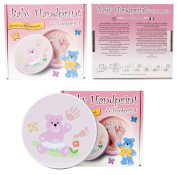 NEW BABY FOOT PRINT HAND PRINT KIT STAMP MOULDING MATERNITY GIFT