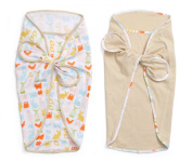 Infantino Cocoon Swaddle Wraps 2 pack