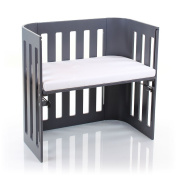 NSAuk Babybay Trend with Fitted Foam/Bamboo Mattress