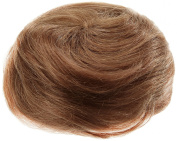American Dream Small Size Human Hair Bun, Medium Ash Brown Number 10