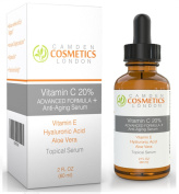 #1 The Best Vitamin C Serum for Face 2oz (60ml) 20% Vitamin C Serum With Hyaluronic Acid