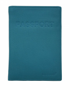 SADDLER Leather International Passport Holder & Credit Card Holder