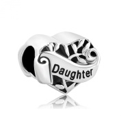 Heart Love Daughter Charms Family Tree of Life Jewellery Sale Beads Fit Pandora Charm Bracelets