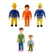 Fireman Sam Action Figure Five Pack