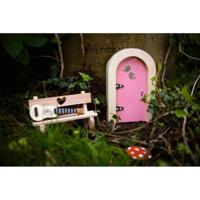 Irish fairy door pink round by uk toys shop online for for Irish fairy door uk