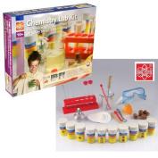Edu Science Chemistry Lab Kit 80 Experiments