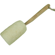 SEEKO Loofah Back Scrubber Brush with Wooden Handle by Spa