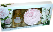 Floral Bath Collection 4pc Gift Set