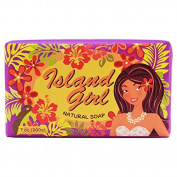 Island Girl - Natural Bar Soap, Tropical Pink, 210ml