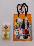 Trader Joe's Tea Tree Oil And Oatmeal And Honey Soap And NY Reusable Shopping Bag