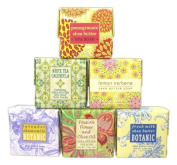 Spa Soap Sampler Set of Six Greenwich Bay Trading Aromatic Soaps 6.350z size