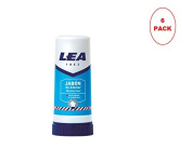Lea Shaving Soap Stick 50gr. Pack of 6