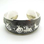 JETTINGBUY Totem Bangle Tibetan silver