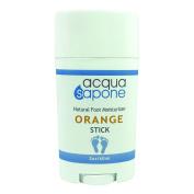 Acqua Sapone Natural Foot Moisturiser Stick Orange 2oz 60ml