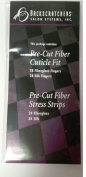 Backscratchers Pre Cut Fibre Cuticle Fit & Stress Strips Fibreglass & Silk Multi Pack