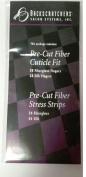 Backscratchers Pre Cut Fibre Cuticle Fit & Stress Strips Fibreglass & Silk Multi Pack