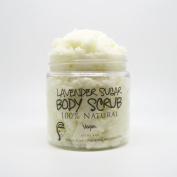 Lavender Sugar Body Scrub (Vegan, 100% Natural, Essential Oils) 120ml