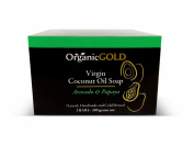 Organic Coconut Oil Soap with Avocado Oil and Papaya Is the Best Natural Cleanser and Deep Moisturiser - Brings Out Young Looking and Radiant Skin - for Healthy and Beautiful Skin!