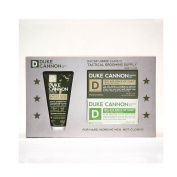 Duke Cannon Tactical Grooming Supply:The Shower+Shave Gift Set