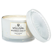 Voluspa Boxed Bourbon Vanille Costa Maison Candle With Lid 330ml