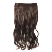 MapofBeauty Fashion Long Curly Clip-on Hair Extensions Hairpieces
