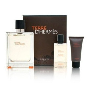 Hermes Terre D'hermes 3 Piece Gift Set for Men by Hermes