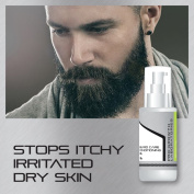 PRO GROWTH MENS BEARD OIL IMPROVES LOOK TEXTURE QUALITY OF BEARD FACE HAIR