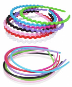 HipGirl Girls / Women Ribbon or Jewel Headbands
