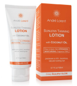 Ultimate Self Tanning Lotion - Andre Lorent Crazy Beautiful Tan & Bronzer - Produces a Rich, Luxurious, Natural Looking Tan - Moisturises & Hydrates Skin with Anti-Ageing Ingredients - Long Lasting